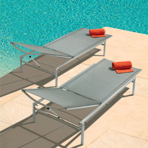 Barlow Tyrie Quattro Stacking Sun Lounger
