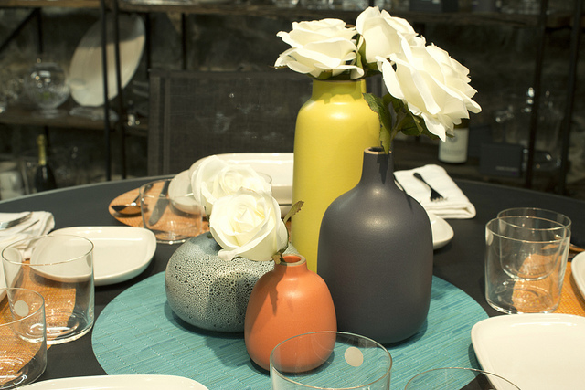 Weekly Table Setting: Clean Lines and Color