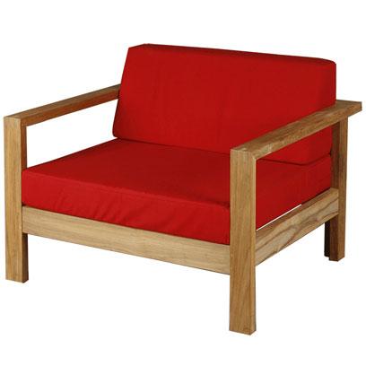 Barlow-Linear deep seating arm chair