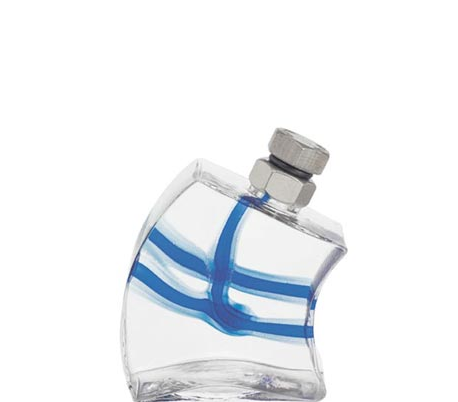Kosta Boda Macho Blue Decanter