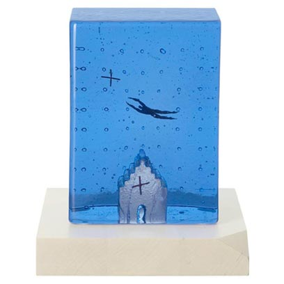 Kosta Boda Dreams Flying High Sculpture