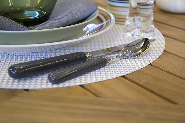 Weekly Table Setting: Sabre Flatware