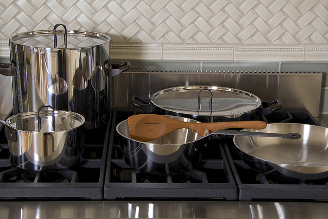 Alessi Cookware in Design Home Kitchen