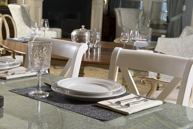 Dinnerware at Design Home Kitchen Island