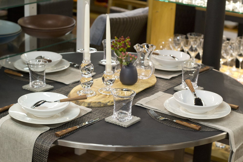 weekly table setting concrete and carbon didriks. Black Bedroom Furniture Sets. Home Design Ideas