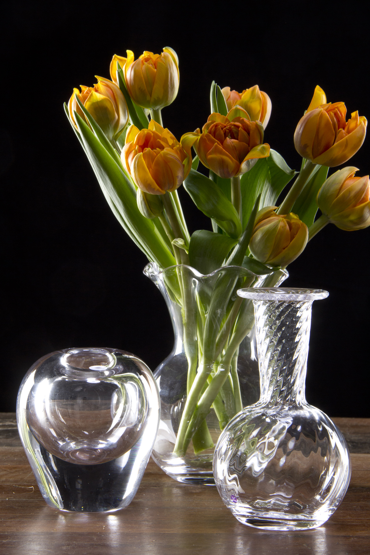 Simon Pearce Glass Vases