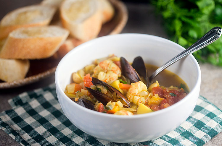 Provencal Seafood Stew  from Healthy. Delicious.