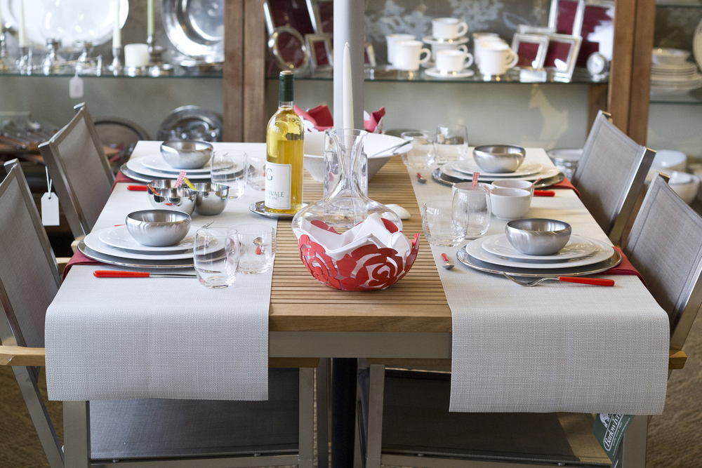 Assorted Alessi table setting