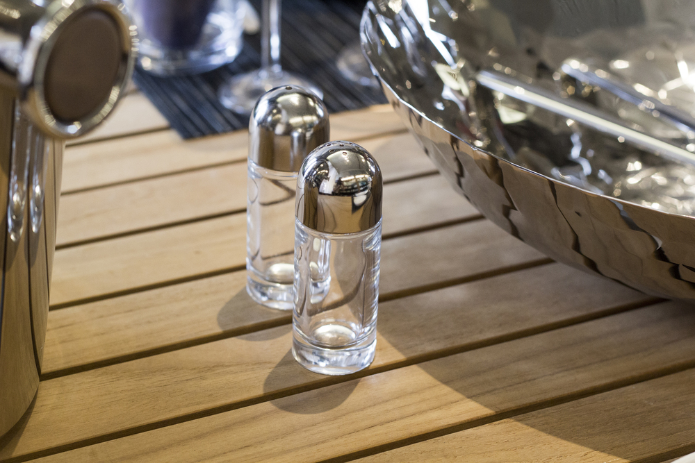 Alessi Salt and Pepper Shakers