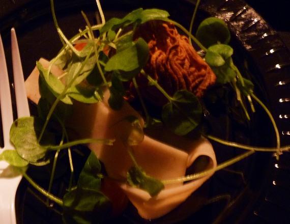 L'Espalier's shrimp noodle at Boston Magazine's Taste