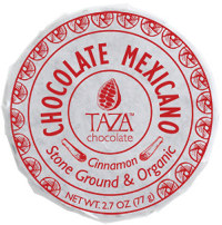 Taza's Mexicano packaging