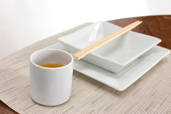 pillivuyt quartet place setting with revol ramekin