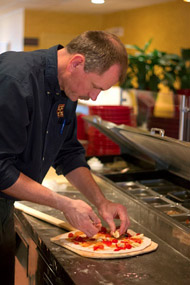 stone hearth pizza's executive chef michael ehlenfeldt