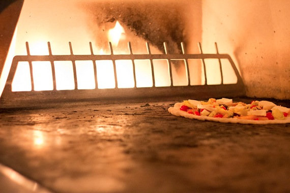 stone hearth farm fresh pizza