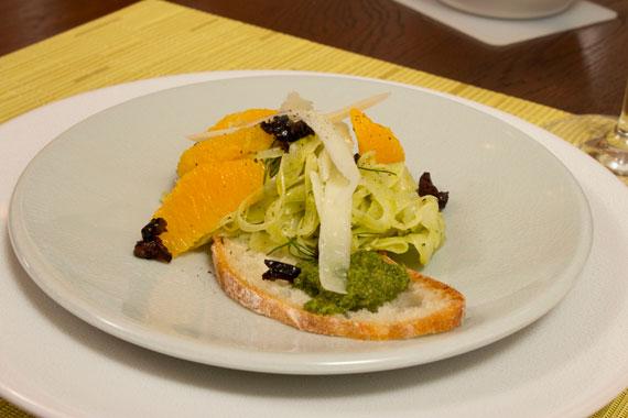 fennel salad on jars poeme dessert plate