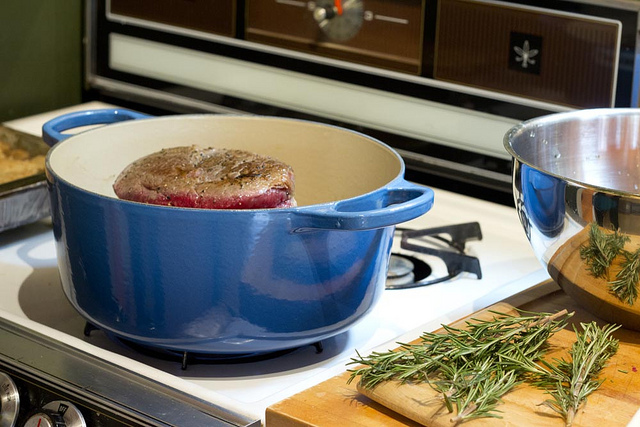 Pot Roast in a Le Creuset Dutch Oven