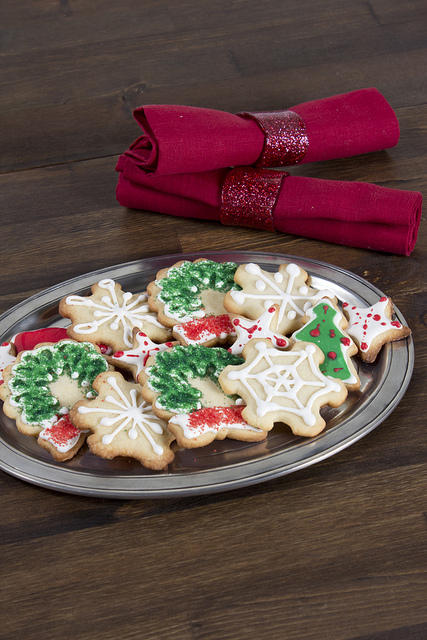 Holiday Decorated Sugar Cookies