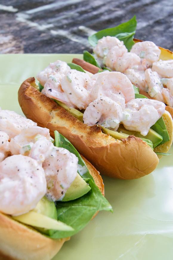 Shrimp Scampi Rolls