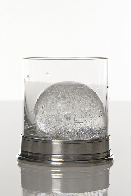 Spherical Ice Cube from Tovolo Mold