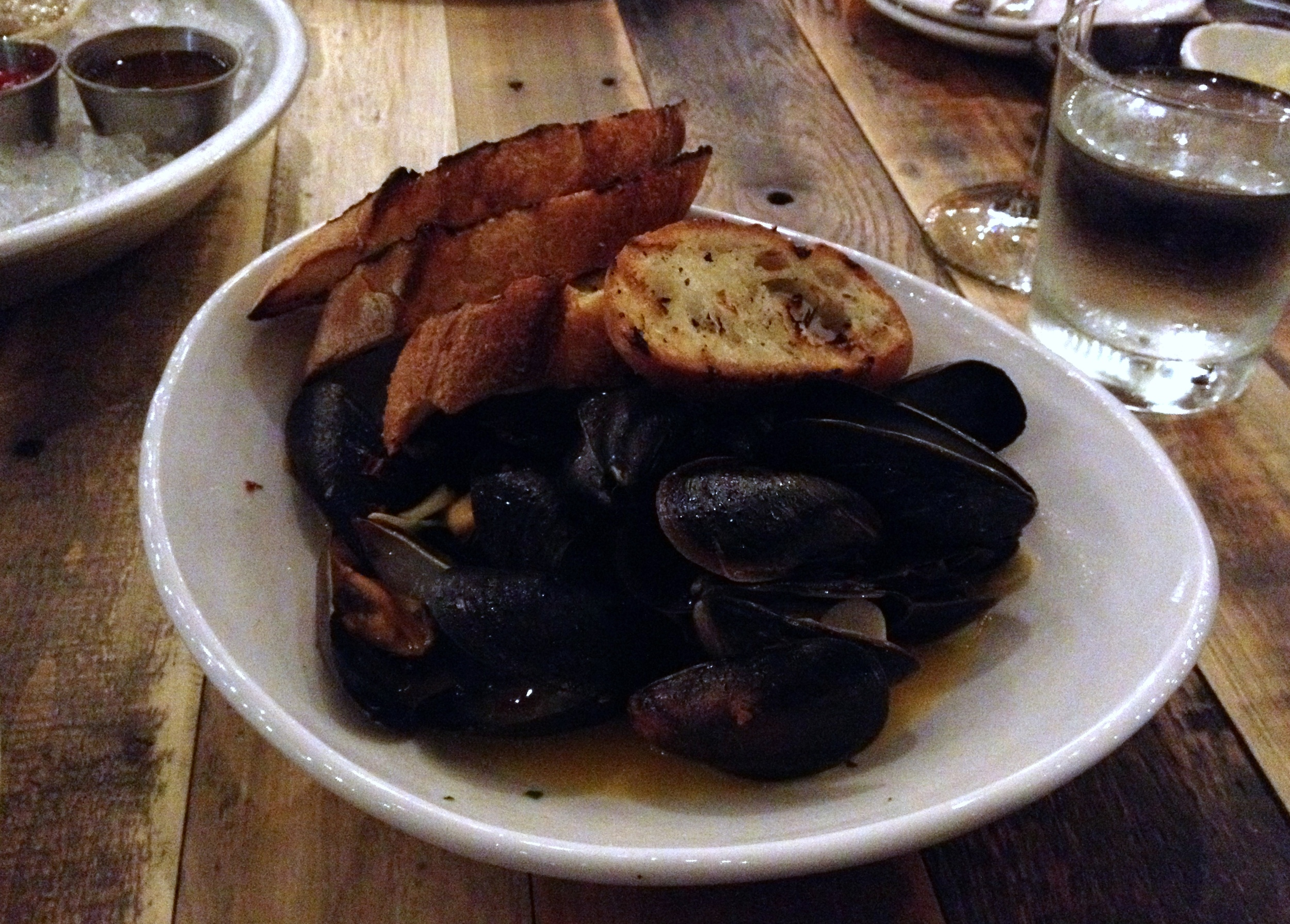 Mussels at Commonwealth