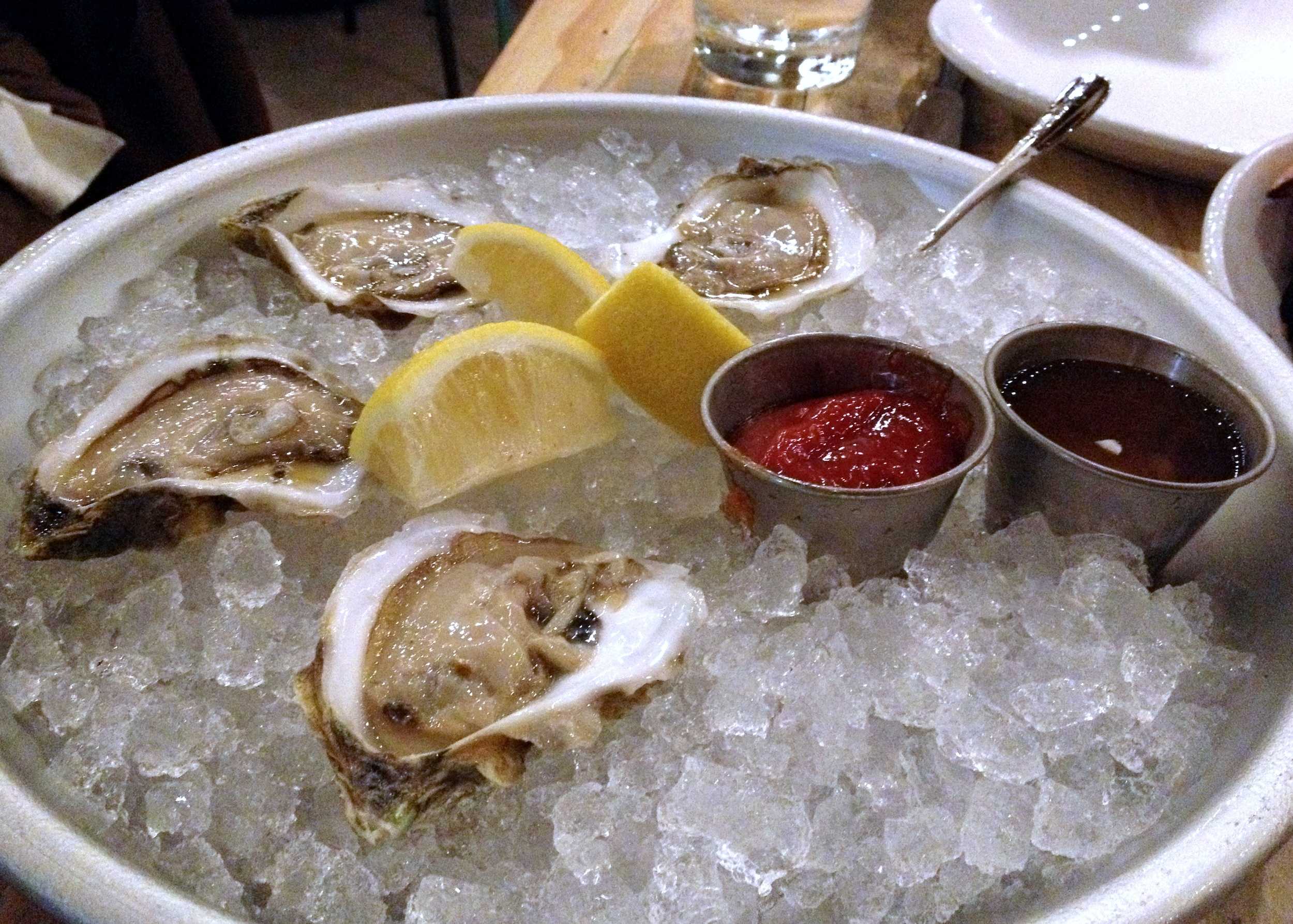 Oysters at Commonwealth