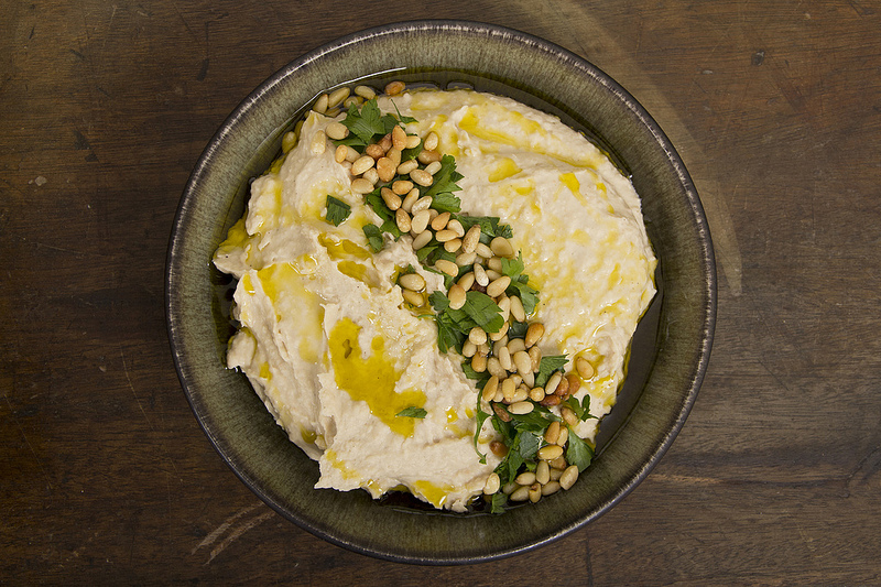 Dinner Series 30: Roasted Lemon White Bean Hummus