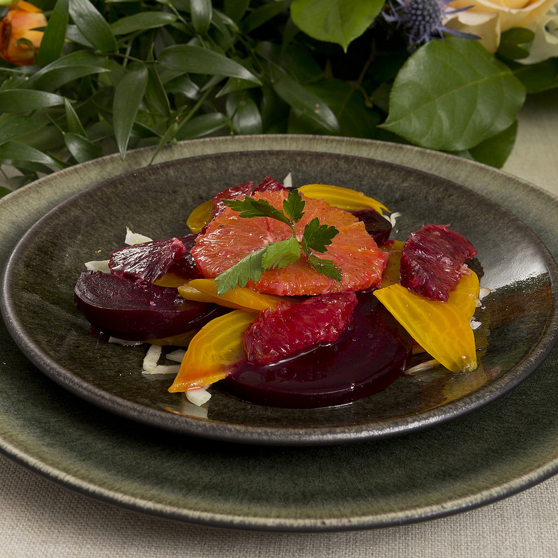 Dinner Series 30: Beet and Blood Orange Salad