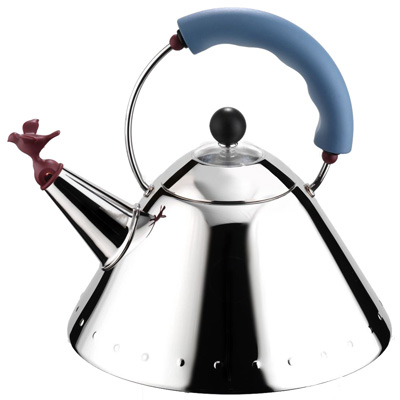 Alessi 9093 whistling bird kettle