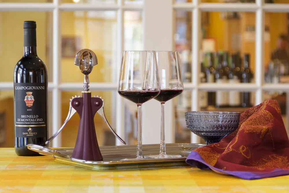 Alessi+anna+g+iittala+essence+red+wine