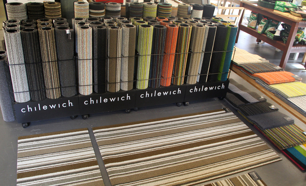 Chilewich  Indoor/Outdoor Utility mats  at our  Newton Lower Falls  location