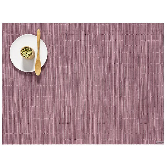 "Decor for the Table - A thoughtful gift that can be used everyday is sometimes the best gift of all. The new warm mauve color ""Rhubarb"" is perfect for the season. Gift Chilewich placemats in a set of 4, 6, 8 or more to the entertainer on your list! $10+"