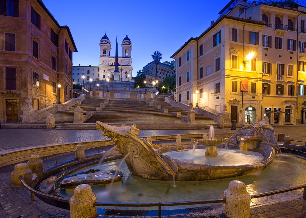 Rome Italy - Spanish Steps