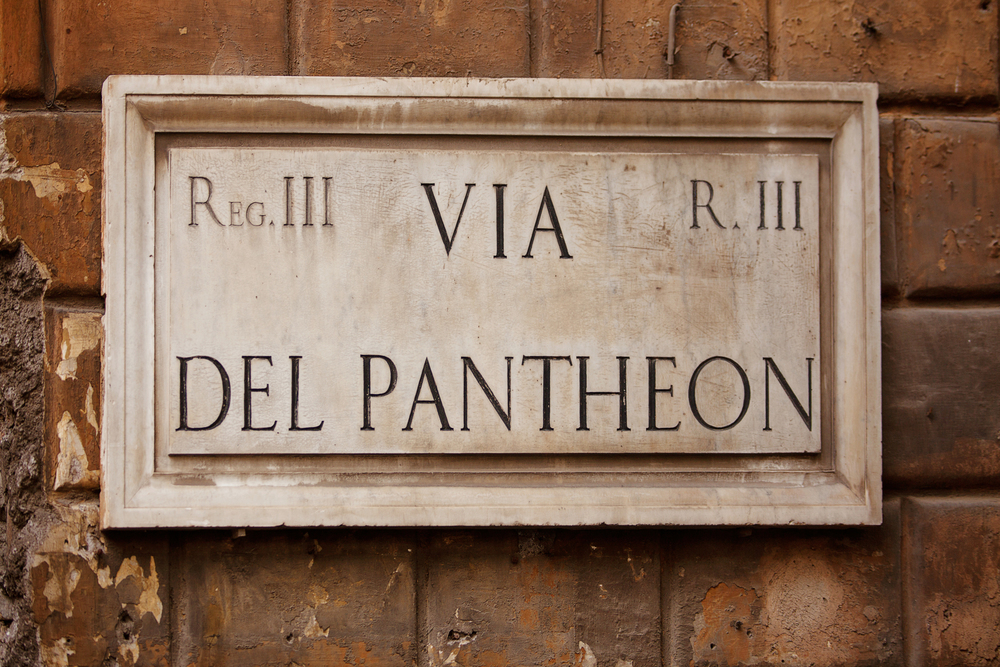 Rome Italy - Pantheon