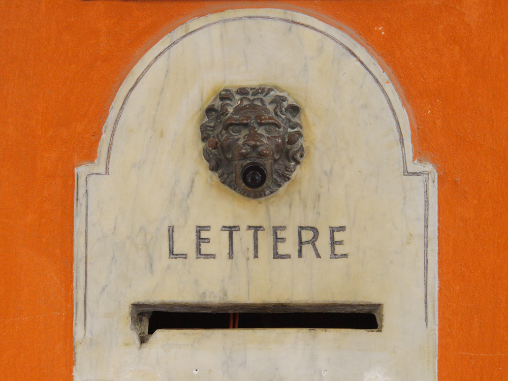Rome Italy Letter Box