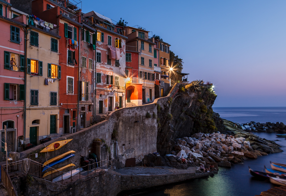 Pesto is from the beautiful region of Liguria (Riomaggiore pictured here)