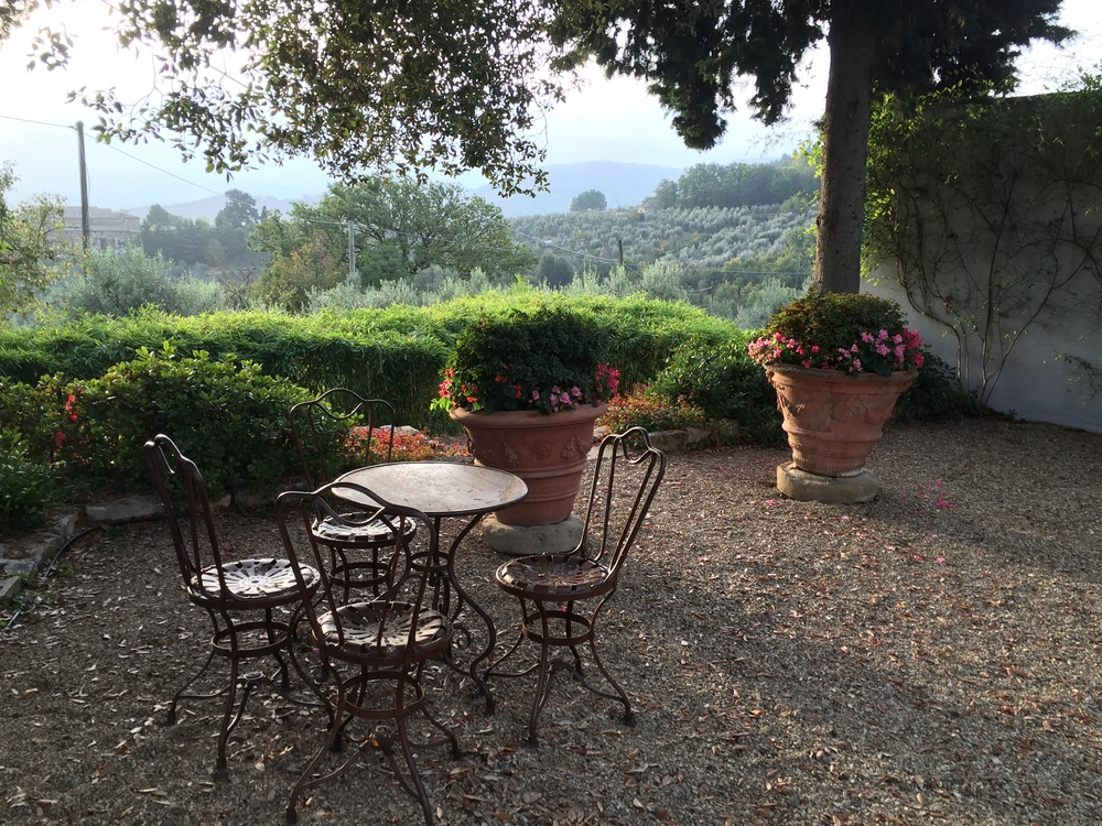 sunrise in chianti