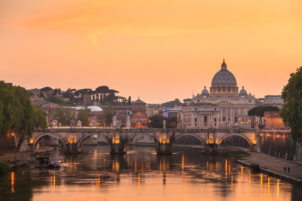Rome: where my love story began