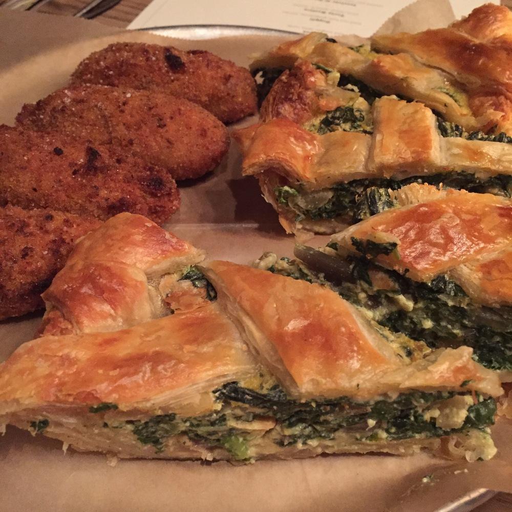 Torta Rustica and Supplì