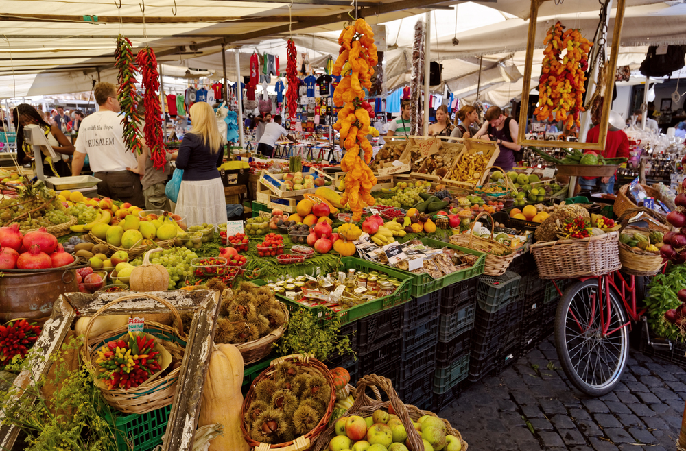 The Market at Campo dei Fiori