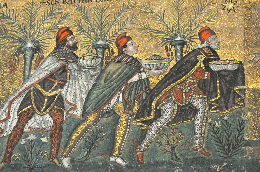 Mosaic detail, Ravenna