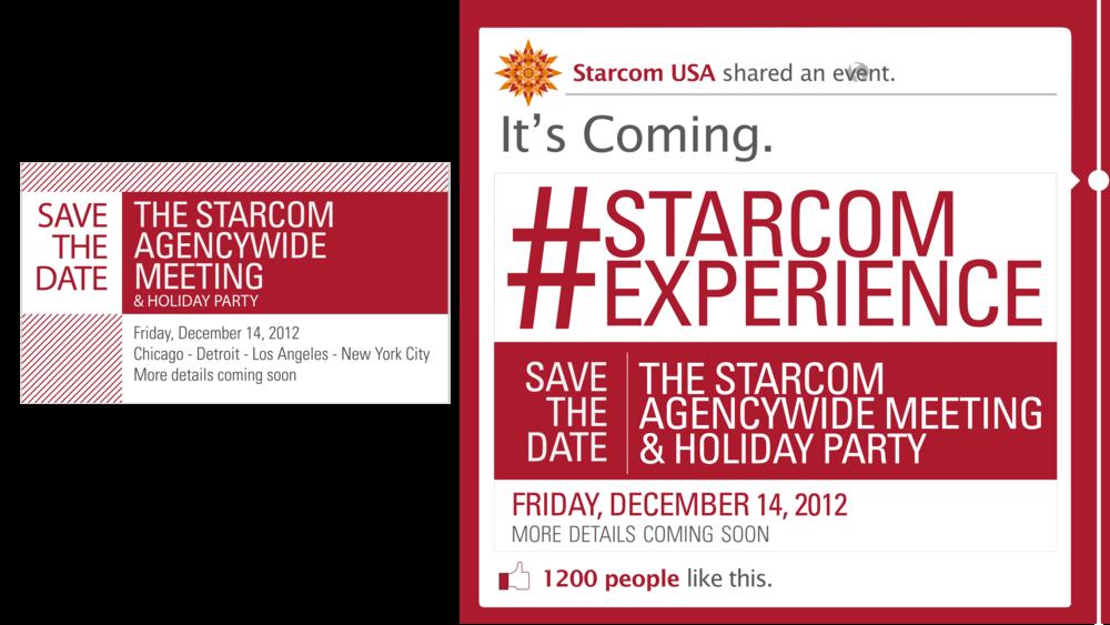 Sterling Sanders, Starcom Live Logo V3