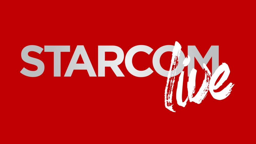 Sterling Sanders, Starcom Live Logo V2