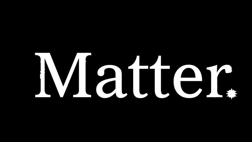 Sterling Sanders, Matter Logo V4