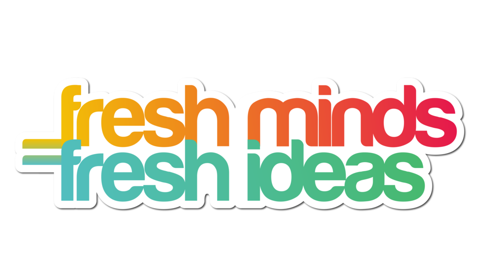 Sterling Sanders, Fresh Minds Fresh Ideas Logo V2