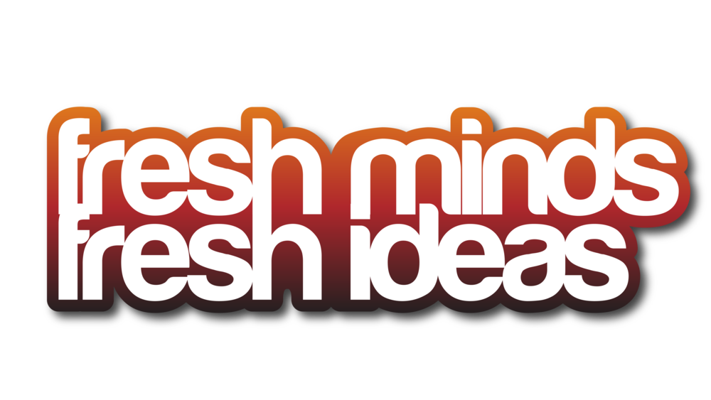 Sterling Sanders, Fresh Minds Fresh Ideas Logo V1