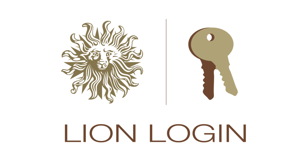 Sterling Sanders, Lion Login Logo V1