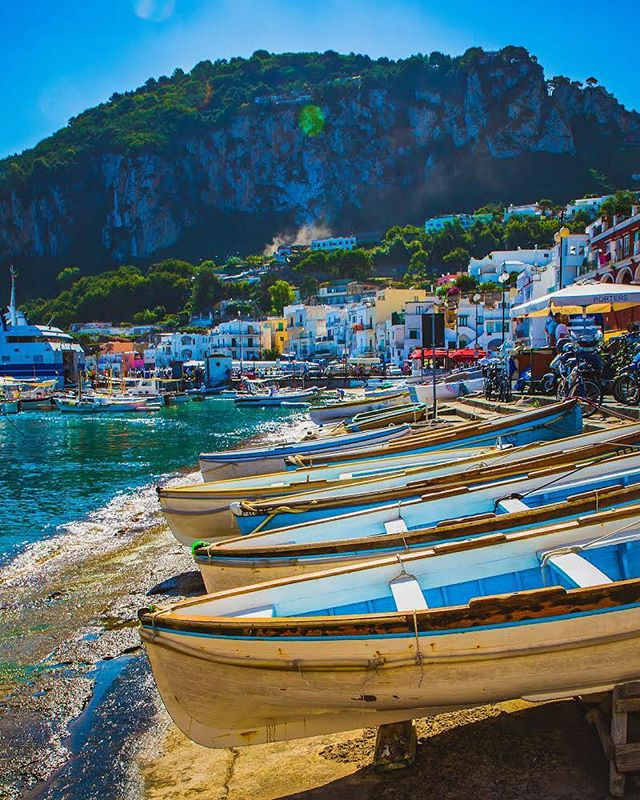Why would you ever need to go anywhere else? #Italy #Capri — The name of the island has two possible origins, either capra (goat) or kapros (wild boar). Either way, sitting in the in the Bay of Naples, this island should be named Sognare, because it's made of dreams, everywhere you look you see another sight you thought you'd only seen while sleeping. — 📸#sterlingsanders — #passionpassport #alphacollective #Travelers #Traveler #Explore #Wanderlust #TravelBug #SoloTravel #TravelBlogger #TravelPhotography #TravelDiary #TravelersJournal #TravelLife #TravelPics #TravelTips #TravelMore #TravelAddict  #TravelEurope #Travelgram #Travelingram #InstaTravel #InstaTraveler #InstaExplore #InstaPassport