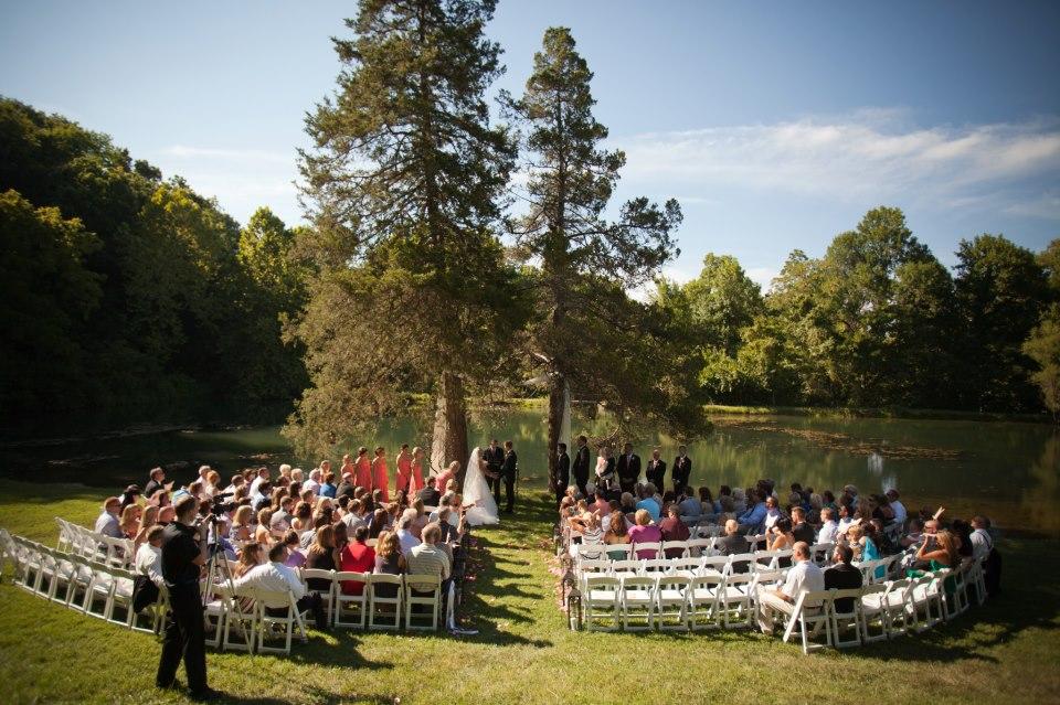 Gallery enchanted hills outdoor wedding event venue ceremony between two cedar trees junglespirit Choice Image