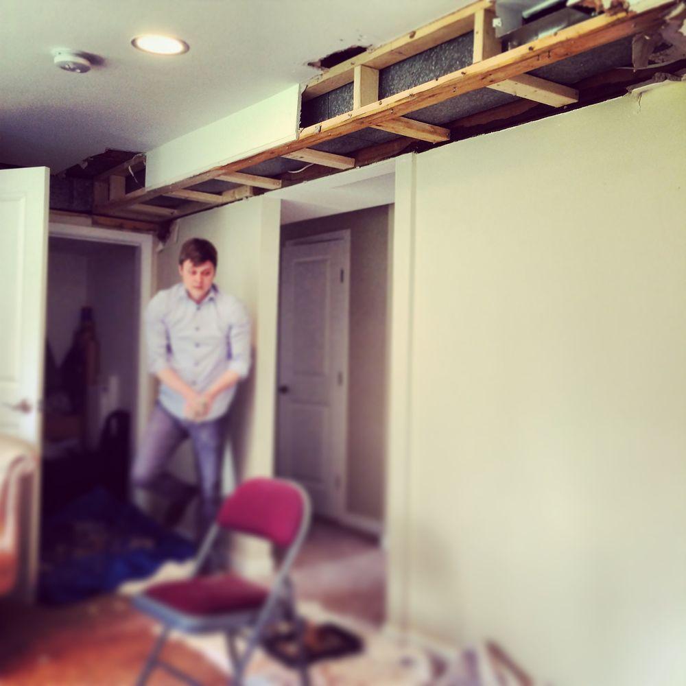 Home Studio water leak