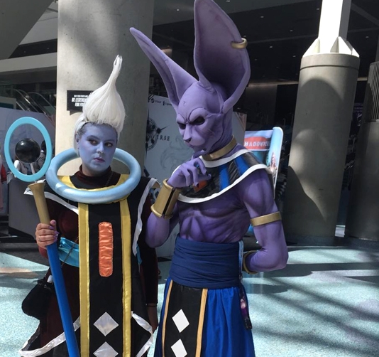 Lord Beerus & Whis's Staff – Dragon Ball Super